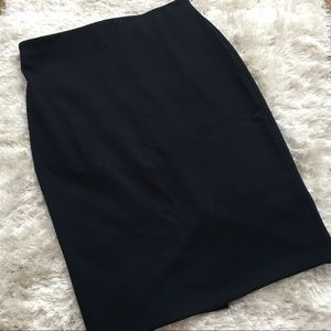 NWT Philosophy Nordstrom Navy Pencil Skirt sz10